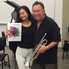 My Latin Jazz teacher, Dr. Bobby Rodriguez