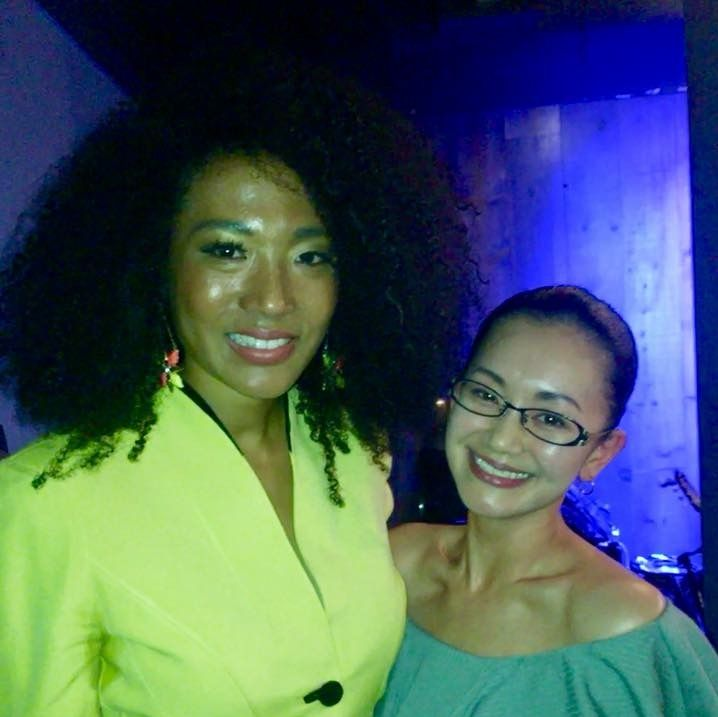 Yuko and Judith Hill