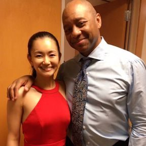Yuko and Branford Marsalis